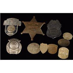 Lot of 9 Badges