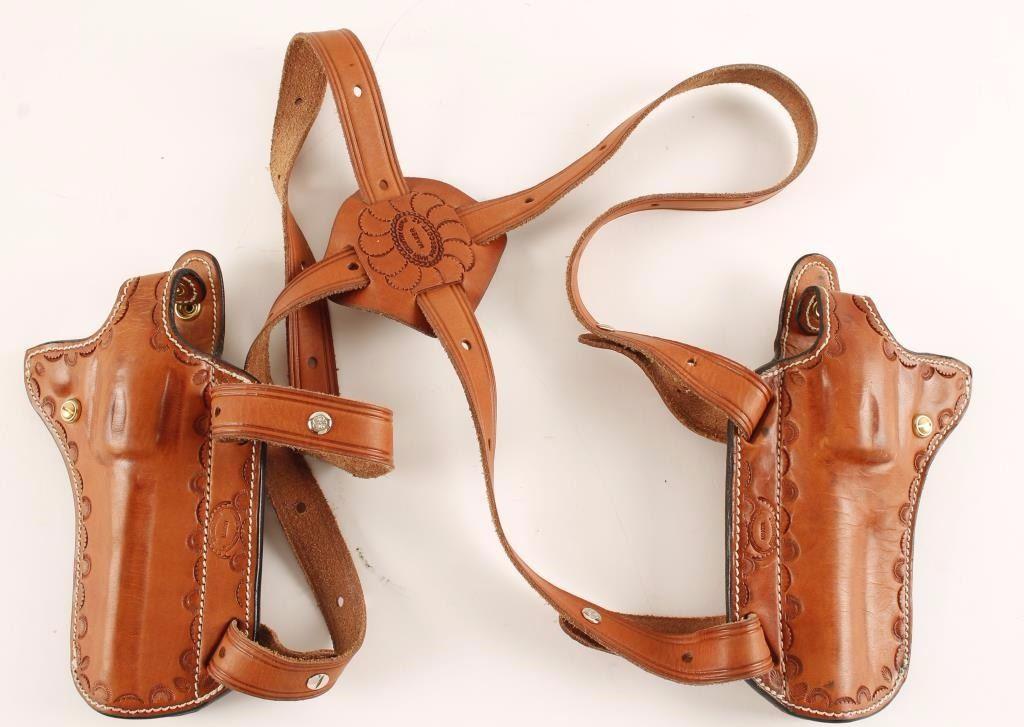 Custom Double Shoulder Holster Rig