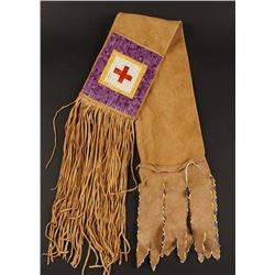 Plains Indian Quilled Pipe Bag