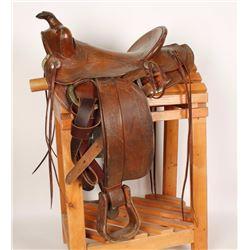 H.H. Heiser Western Saddle