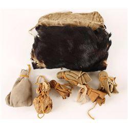 Medicine Man Bear Skin Bag