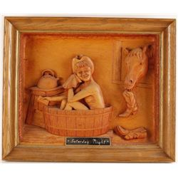 """Saturday Night"" Woodcarving"
