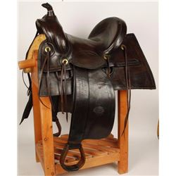 S.C. Gallup High Back Saddle