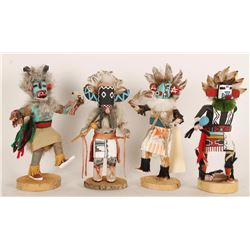 Lot of 4 Kachinas