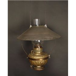 Antique Hanging Saloon Lamp
