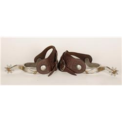 Pair of L&M Contemporary Gal Leg Spurs