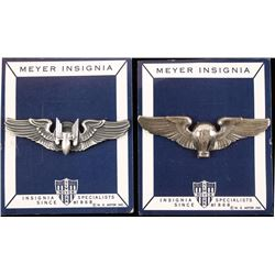2 USAAF WWII Army Wings