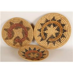 Collection of 3 Navajo Wedding Baskets