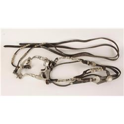 Pretty Nickel Plated Headstall
