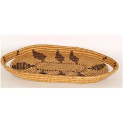 California Style Basketry Tray