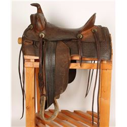 Chas. R. Shipley Child's Saddle