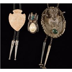 Collection of 3 Bolo Ties