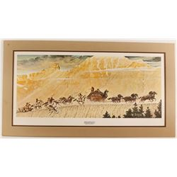"""""""Stagecoach"""" Norman Rockwell Print"""