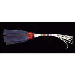 Native American Beaded Fan
