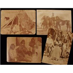 Lot of 4 Vintage Photos