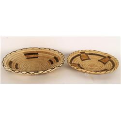 Collection of 2 Pima Baskets