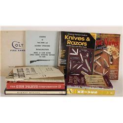 Lot of Gun & Knife Related Books