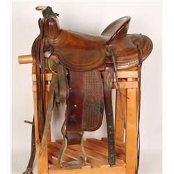 L.H. Brand Western Saddle
