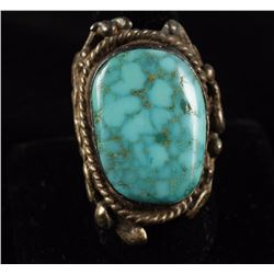 Large Man's Turquoise Ring