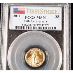 2011 American Gold Eagle PCGS MS70
