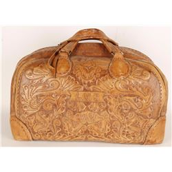Tooled Leather Doctor's Bag