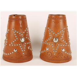 Pair of Star Spotted Cowboy Cuffs