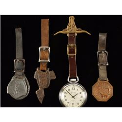 Collection of 4 Watch Fobs