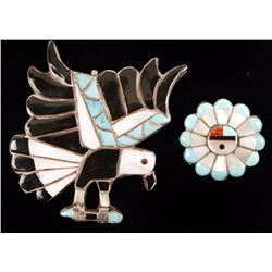 Collection of Two Zuni Pendants