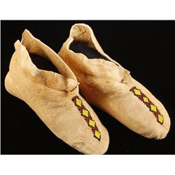 Ladies Indian Beaded Moccasins