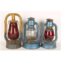 Lot of 3 Lanterns