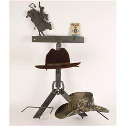 Custom Made Cowboy Hat Rack
