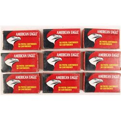 Lot of 9 Boxes of 9mm Luger