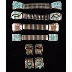 Lot of 6 Navajo Watchbands