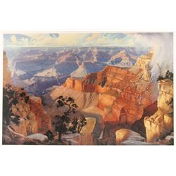 """""""The Grand Canyon"""" Print by Fred Lucas"""
