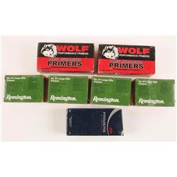 Lot of 7 Boxes Large Rifle Primers