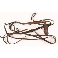 Leather Pony Bridle & Bit