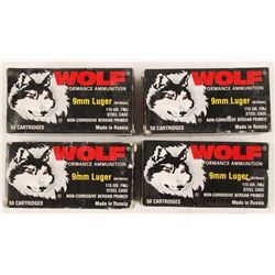 Lot of 4 Boxes 9mm