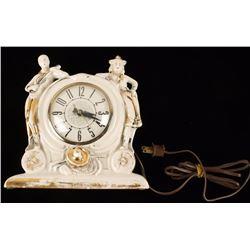 Lanshire Western Themed Desk Clock