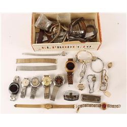 Lot of Misc Watches & Parts