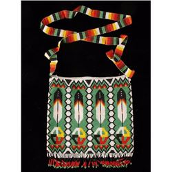 Native American Fully Beaded Purse