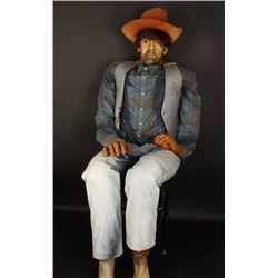 Trading Post Cowboy Mannequin
