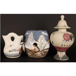 Lot of 3 Ceramic Southwest Pottery