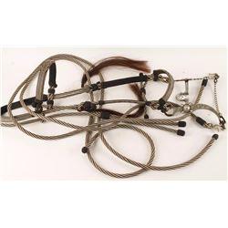 Braided Horsehair Bridle