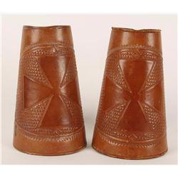 Maltese Cross Cowboy Cuffs