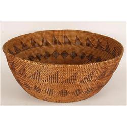 Beautiful Large California Mission Basket