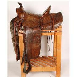 Spectacular D.E. Walker Saddle
