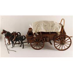 Hand Made Model Chuck Wagon
