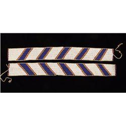 Pair of Beaded Strips