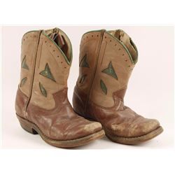 Pair of Child's Cowboy Boots
