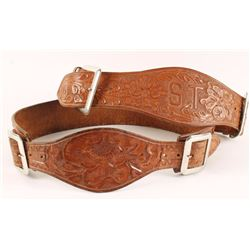 Collection of 2 Cowgirl Belts